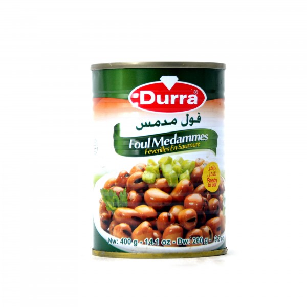 Durra cooked fava beans 400g
