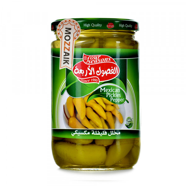 Four Seasons pickled Mexican pepper 650 g