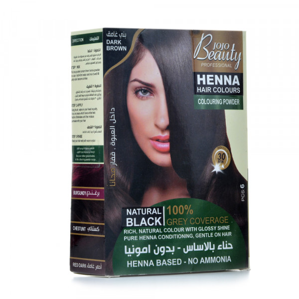 Beauty jojo Henna hair Dark brown 60g