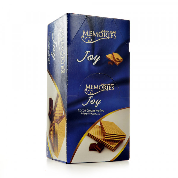 Memories - Wafers Stuffed with Cocoa cream - 24 piece