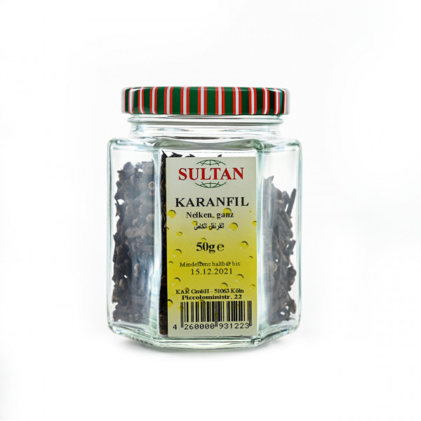 Sultan Cloves in a glass 50g