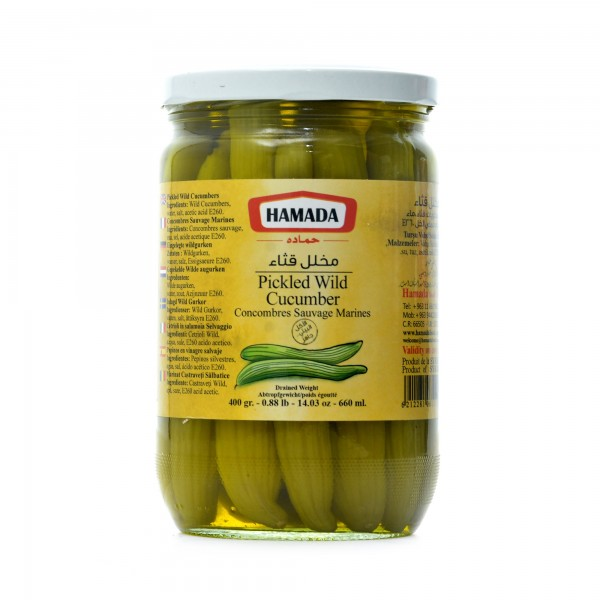 Hamada Pickled Wild Cucumber 400 g