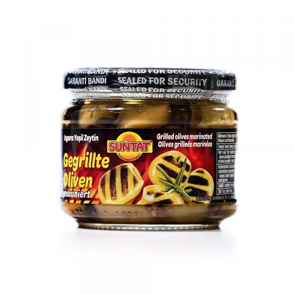 Green Olives Grilled suntat 250 g