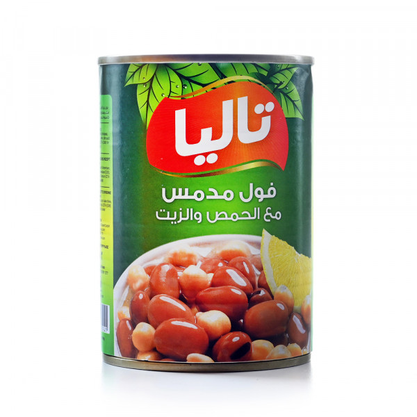 Talia cooked fava beans With Chickpeas And Oil - 400 g