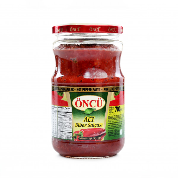 Öncü paprika spicy paste 720g