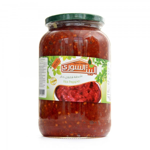 peppers paste Syrian House (hot) 1300g