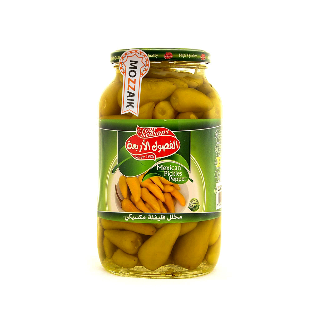 Four Seasons pickled Mexican pepper 2800 g