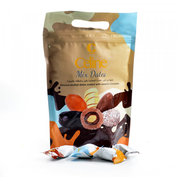 Celine - Assorted Dates with Almonds 600g
