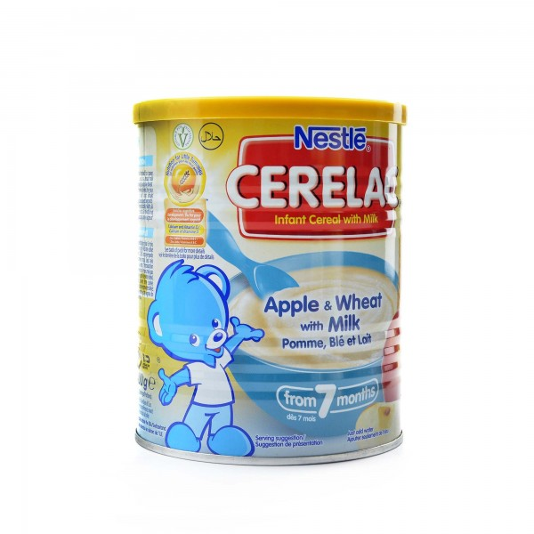Cerealac With wheat and apples And milk 400 g