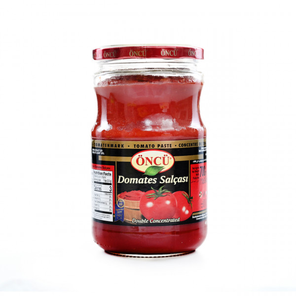 Öncü tomato paste in a jar 700g