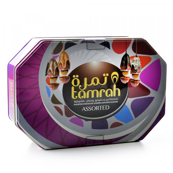 Tamrah - Assorted Dates with Almonds 700g