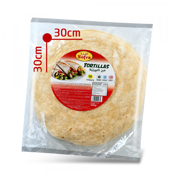 Sofra- Tortillabrot - 18 Brote - 1620 g