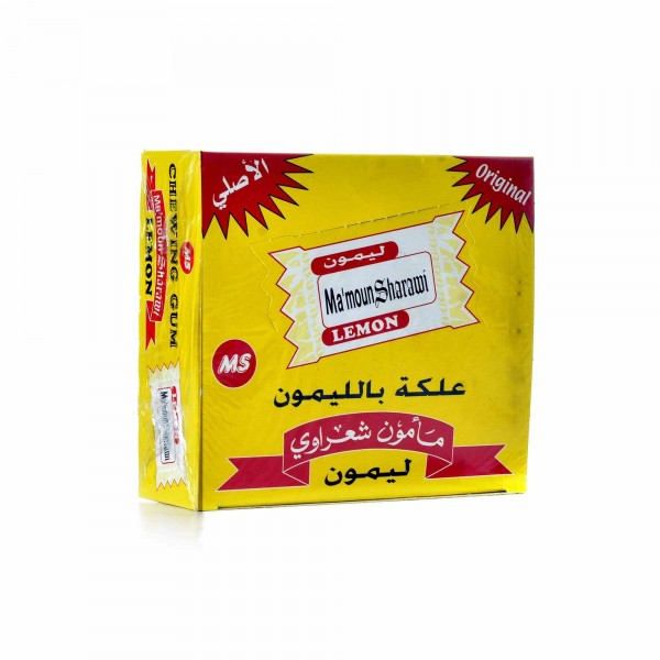 Chewing gum Sharawi 100 pieces lemon flavour