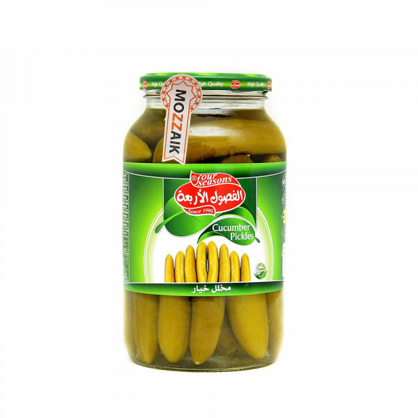 Four Seasons pickled cucumber 1050 g
