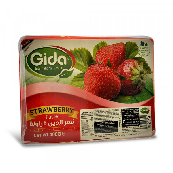 Kmmardin Strawberries Gida Halal 400g