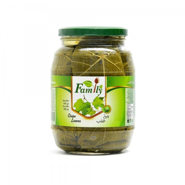 Family Grape Leaves 850 g