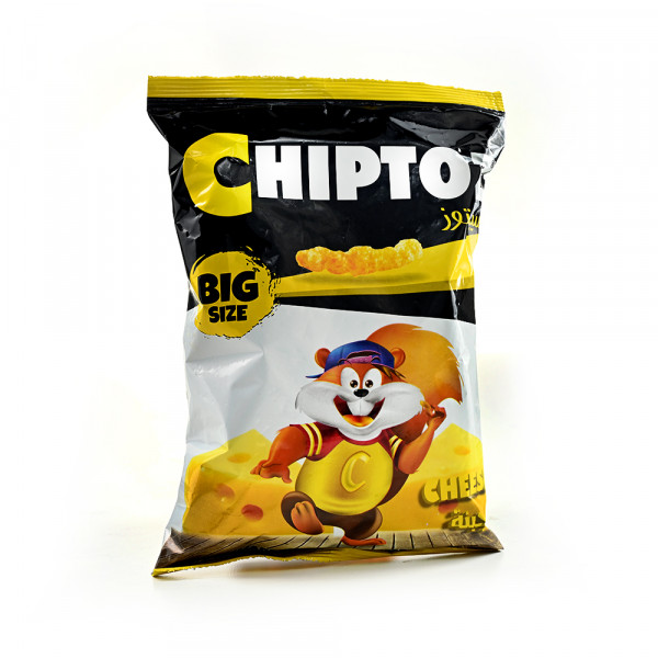Chips chiptoz Cheese flavor