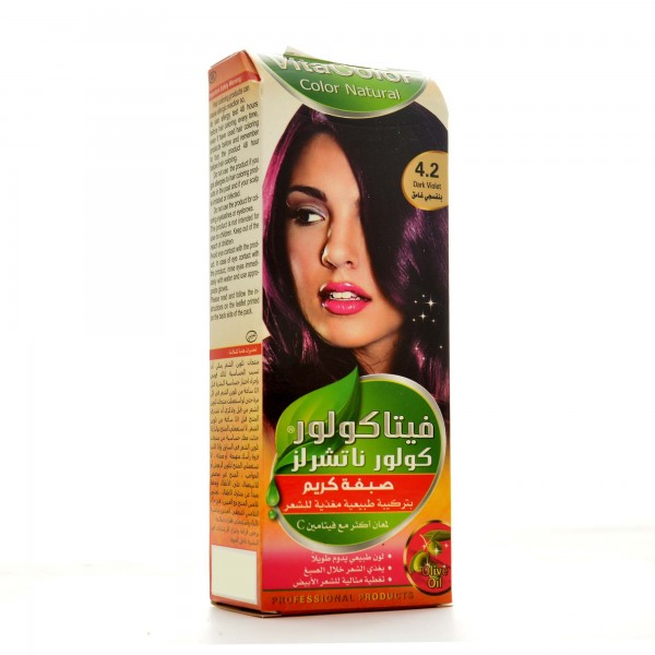 Hair Color Vita Color 50 ml-4.2