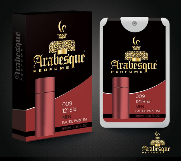 Arabesque perfume - sixi - 009 -for man