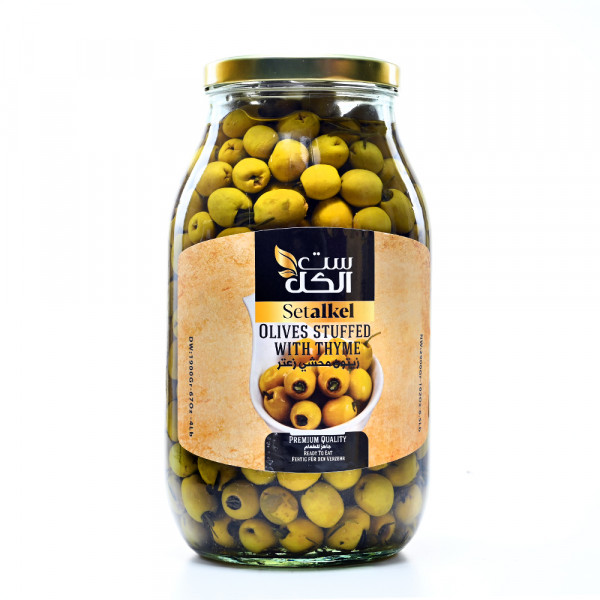 Olives (filled withThyme) setalkel 4000 g