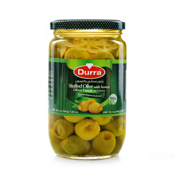 Olives (filled with Carrots) Durra 1400g
