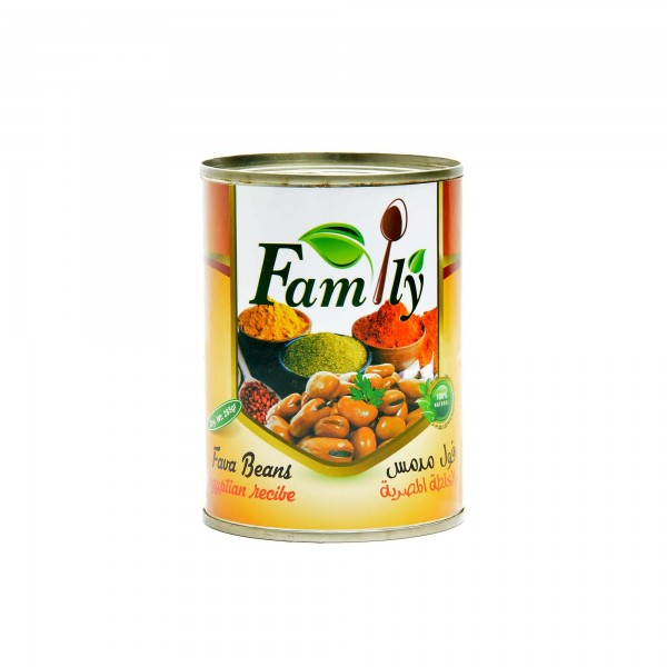 Family cooked beans with Egyptian Mix 400 g