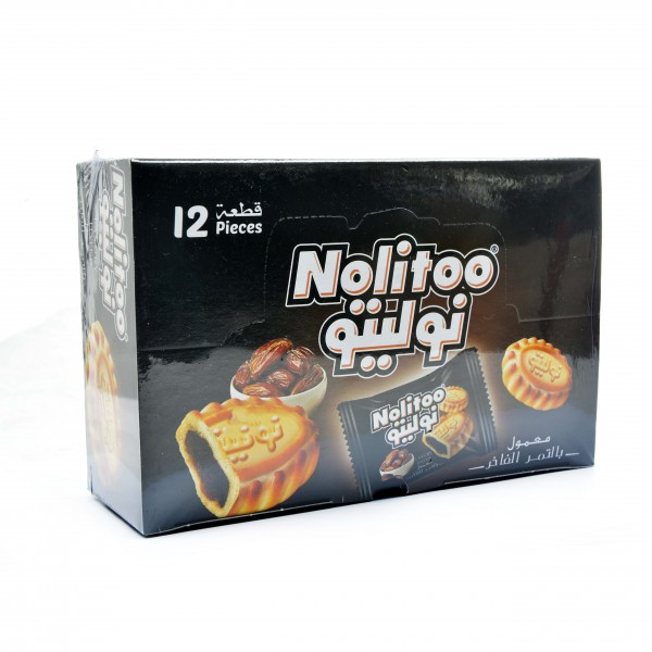 Nolitoo maamoul with dates 12 pieces
