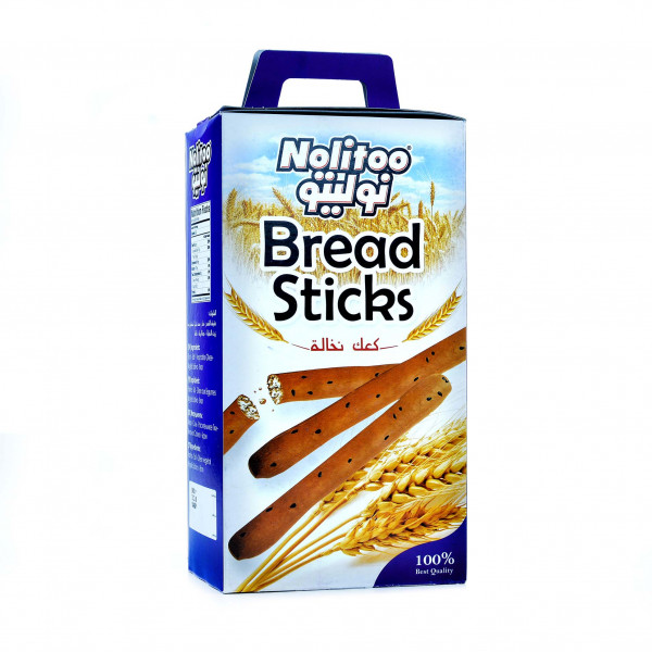 Nolitoo Bread Sticks bran 400g