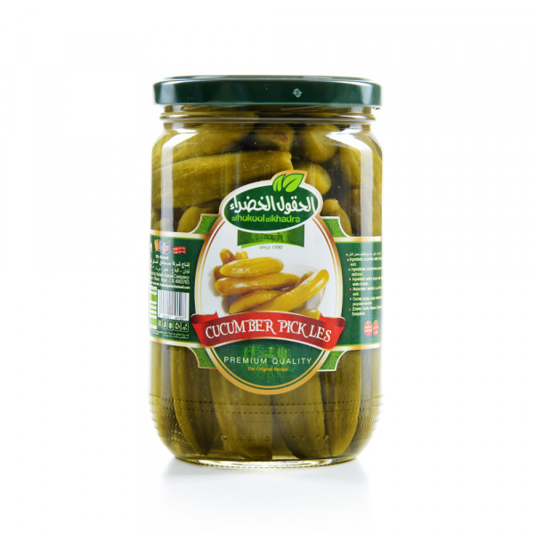 Pickled Cucumber Alhokool alkhadra 600 g