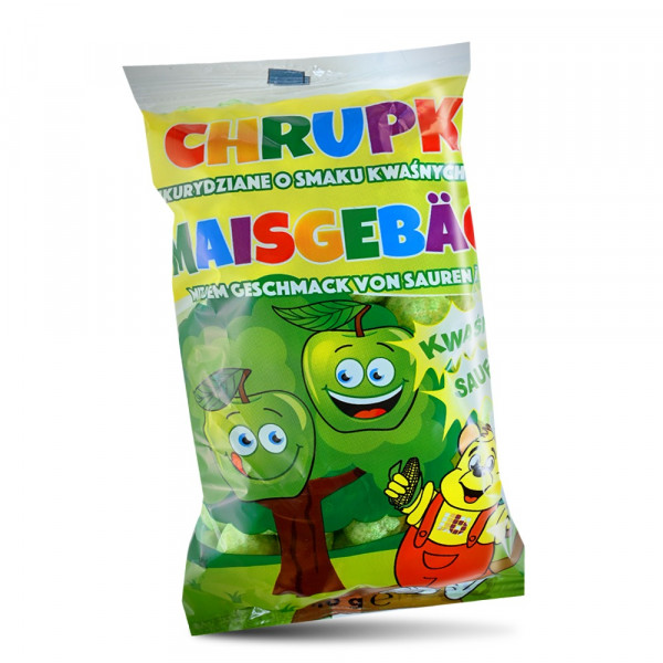 Corn Chips with Apple Flavour 40g