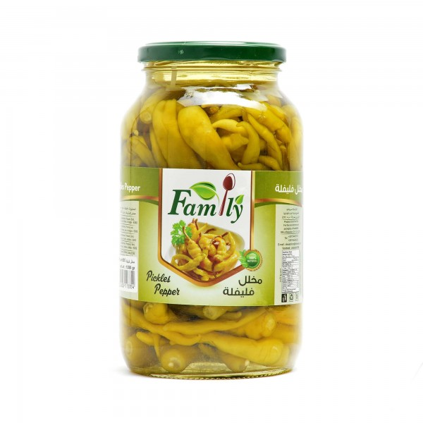 Pickled Peppers 1350 g- Family