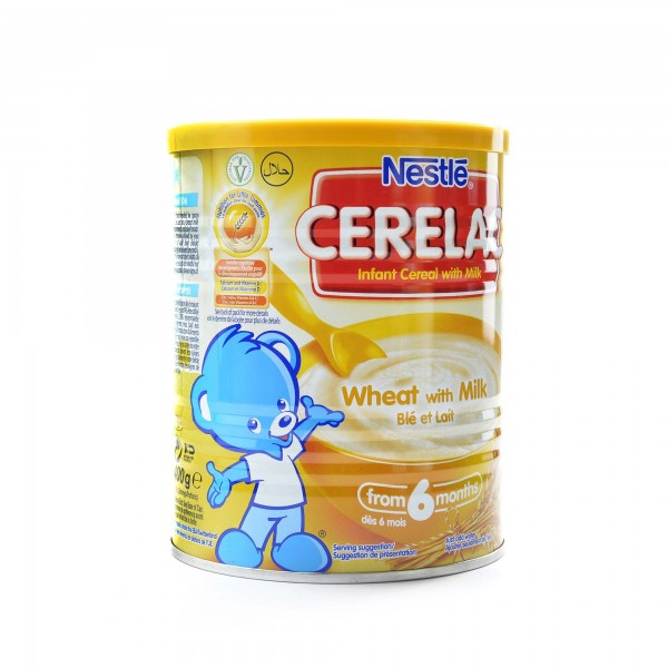 Cerealac withe Wheat and milk 400 g