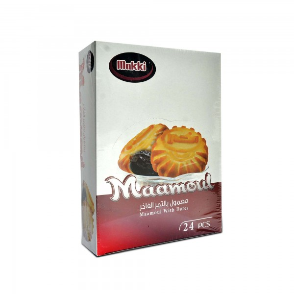Makki maamoul with dates