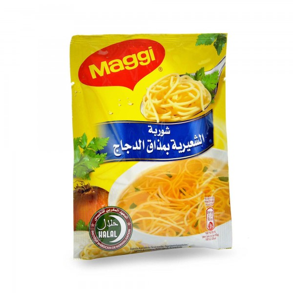 Maggi Chicken soup with chicken taste