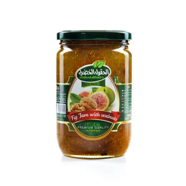 Fig Jam With walnuts - Alhokool Alkhadra 775 g