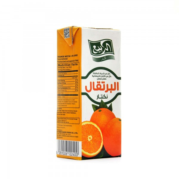 Al Rabii Orange flavor 200 ml