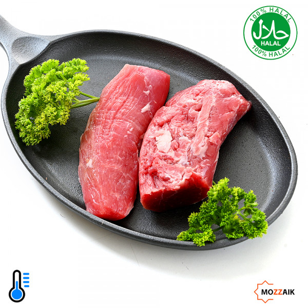 Lamb fillet without fat 500g