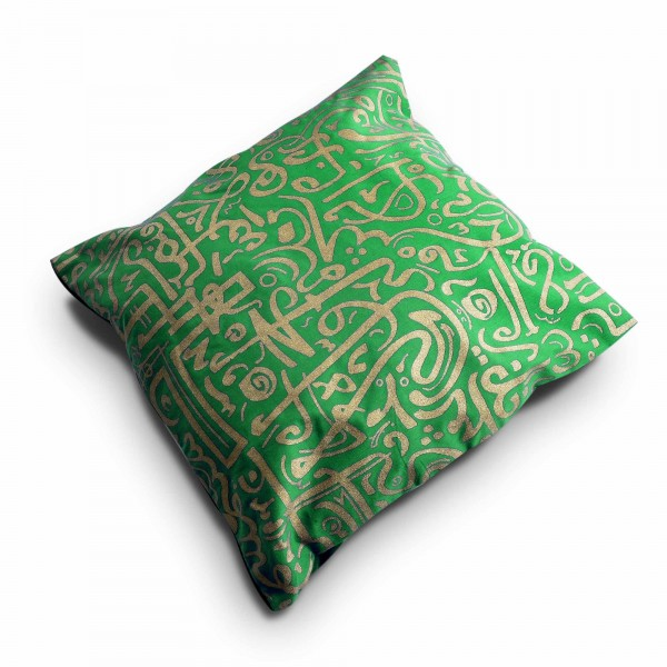 oriental pillow cover