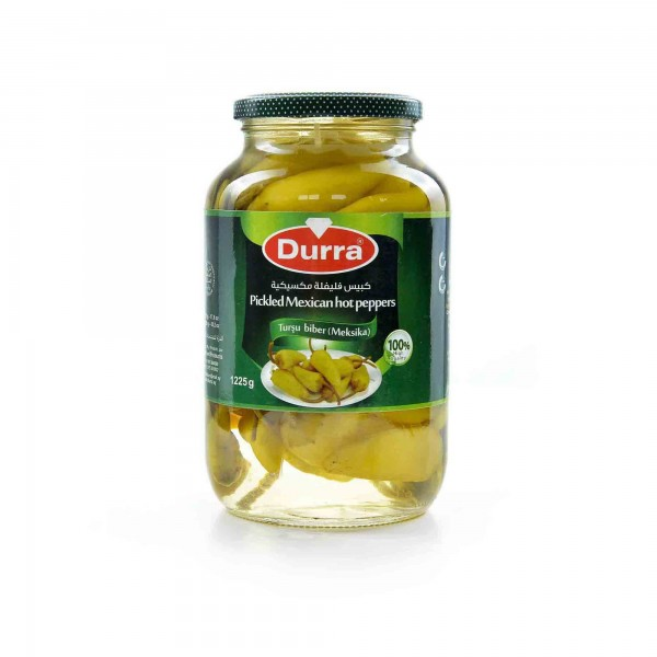 Durra pickled Mexican hot pepper 650g