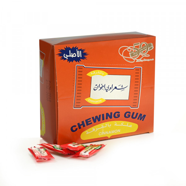 Chewing gum Sharawi 100 pieces Cinnamon Flavor