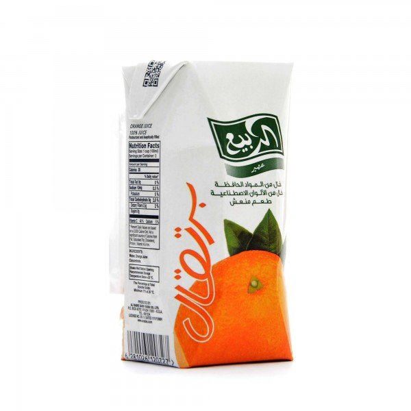 Al Rabii Orange flavor 100 ml
