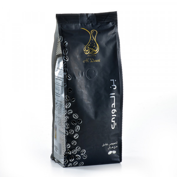 al douri Dark roasting With Hull Turkish Arabic Coffee 450 g