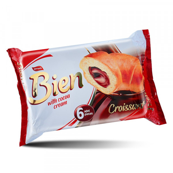 Bien Croissants stuffed with Chocolate - 6 pieces