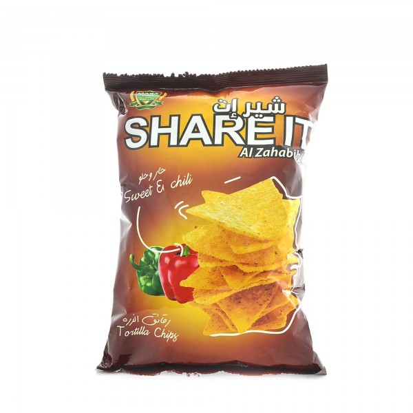 Chips Share It-Hot and sweet