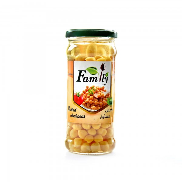 Fmily Boiled Chickpeas 375 g