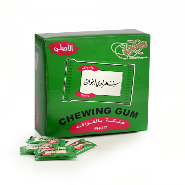 Chewing gum Sharawi 100 pieces Tuttifrutti flavour