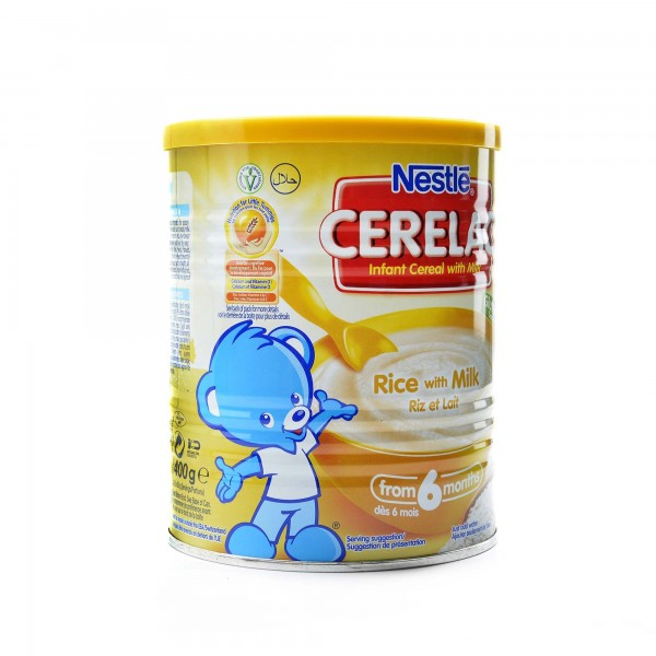Cerealac With milk and rice 400 g