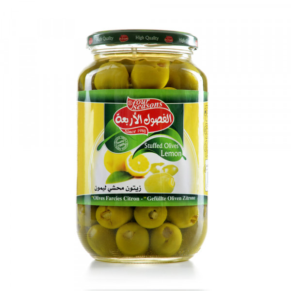 Olives (filled with Lemon)Four Seasons 1050 g
