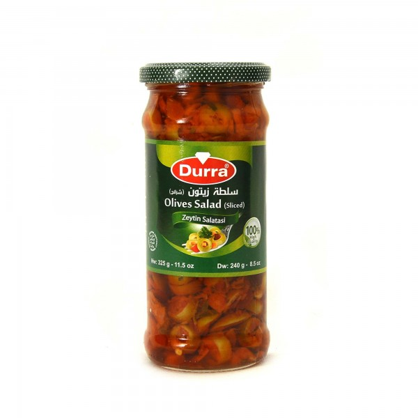 Durra olives salad (sliced) 325g