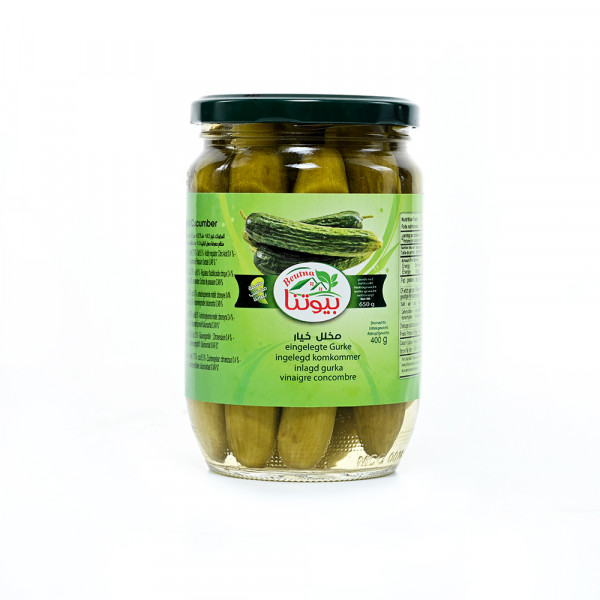 Pickled Cucumber Beutna with garlic and spices 650 g